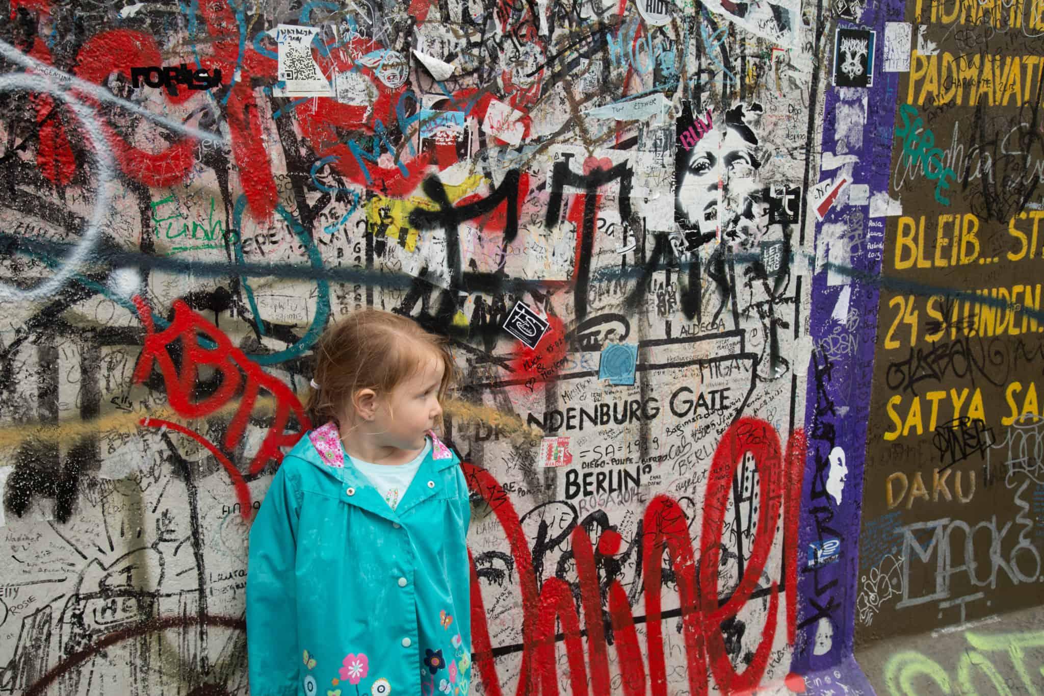 Travel with kids - Berlin Wall - Berlin - Germany