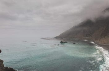 Mist on Highway 1, Big Sur, California, USA