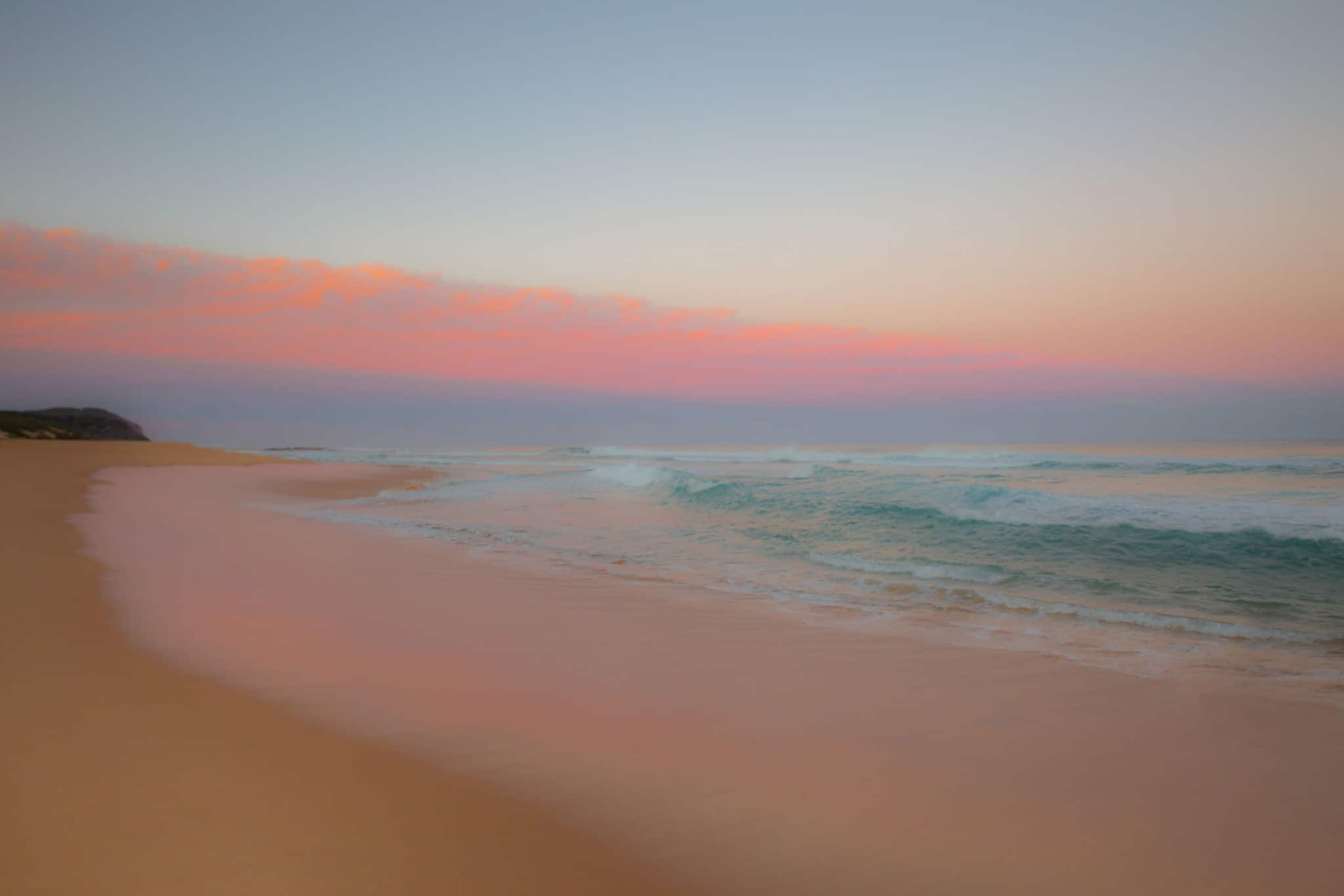 TravelwithMeraki-Sunrise-Wamberal Beach-New South Wales-Australia