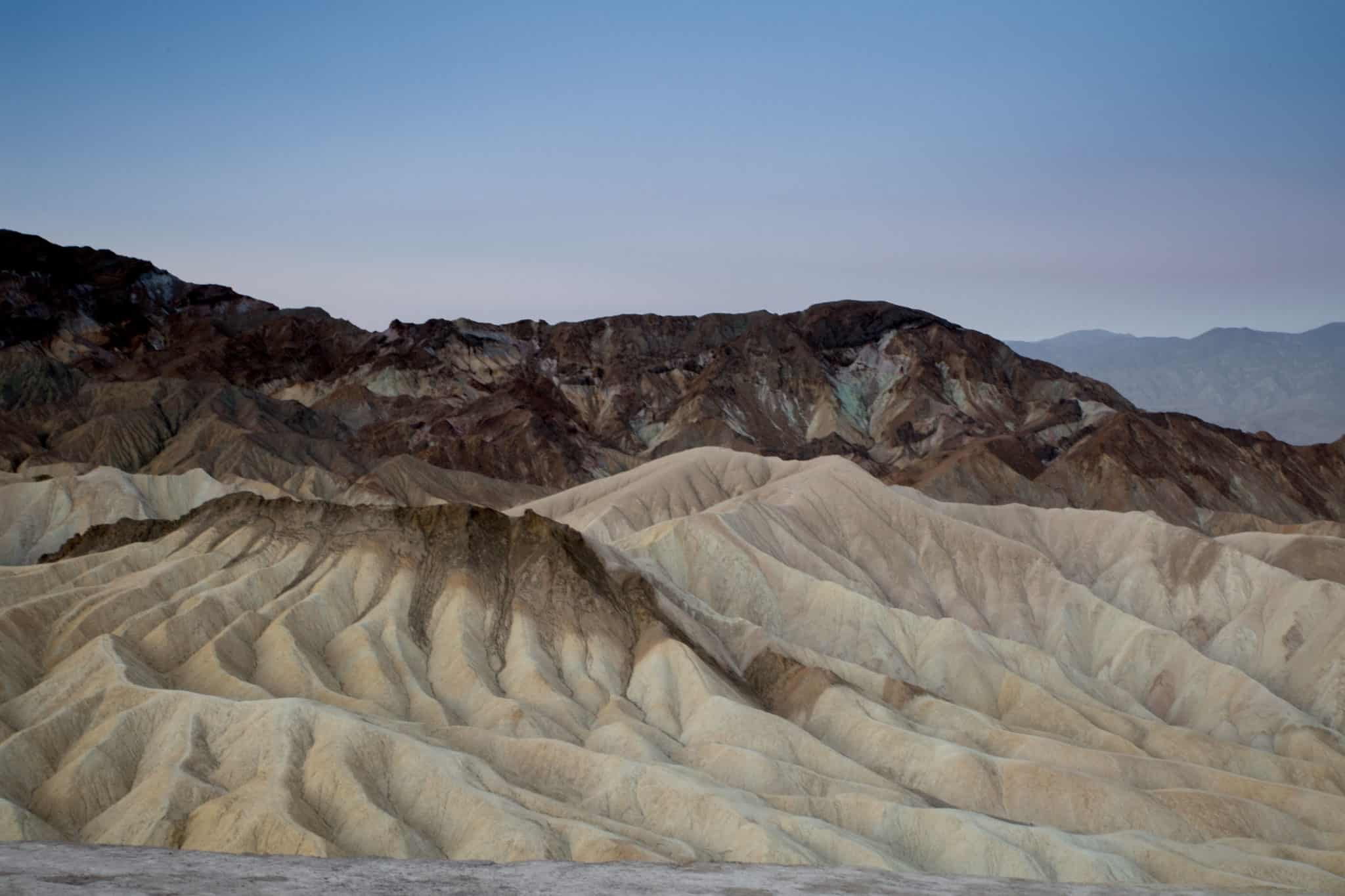 TravelwithMeraki-Sunrise-Zabriskie Point-Death Valley-California-USA