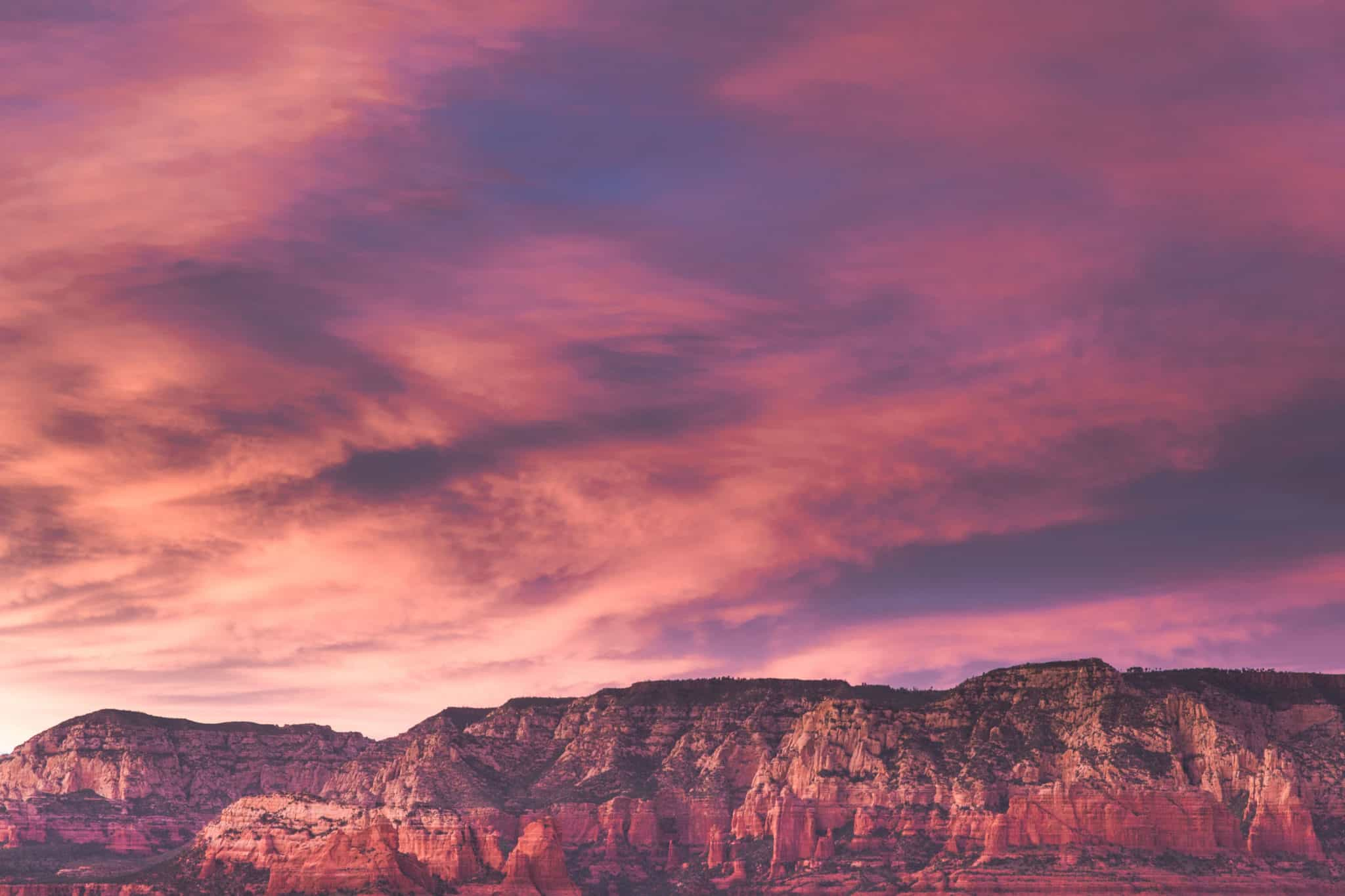 TravelwithMeraki-Sunset-Sedona-Arizona-USA