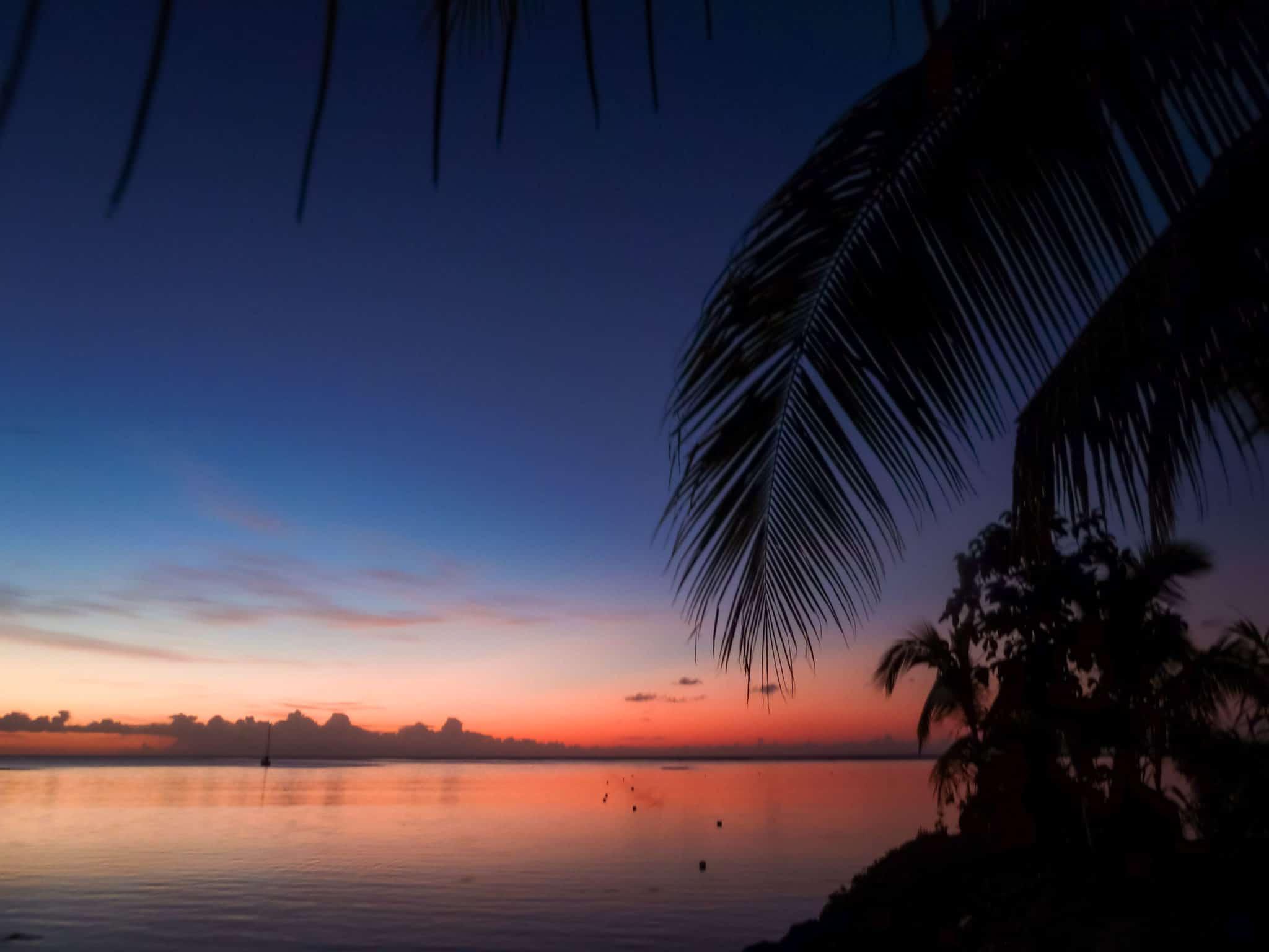 TravelwithMeraki-Sunset-Savaii-Samoa-South-Pacific