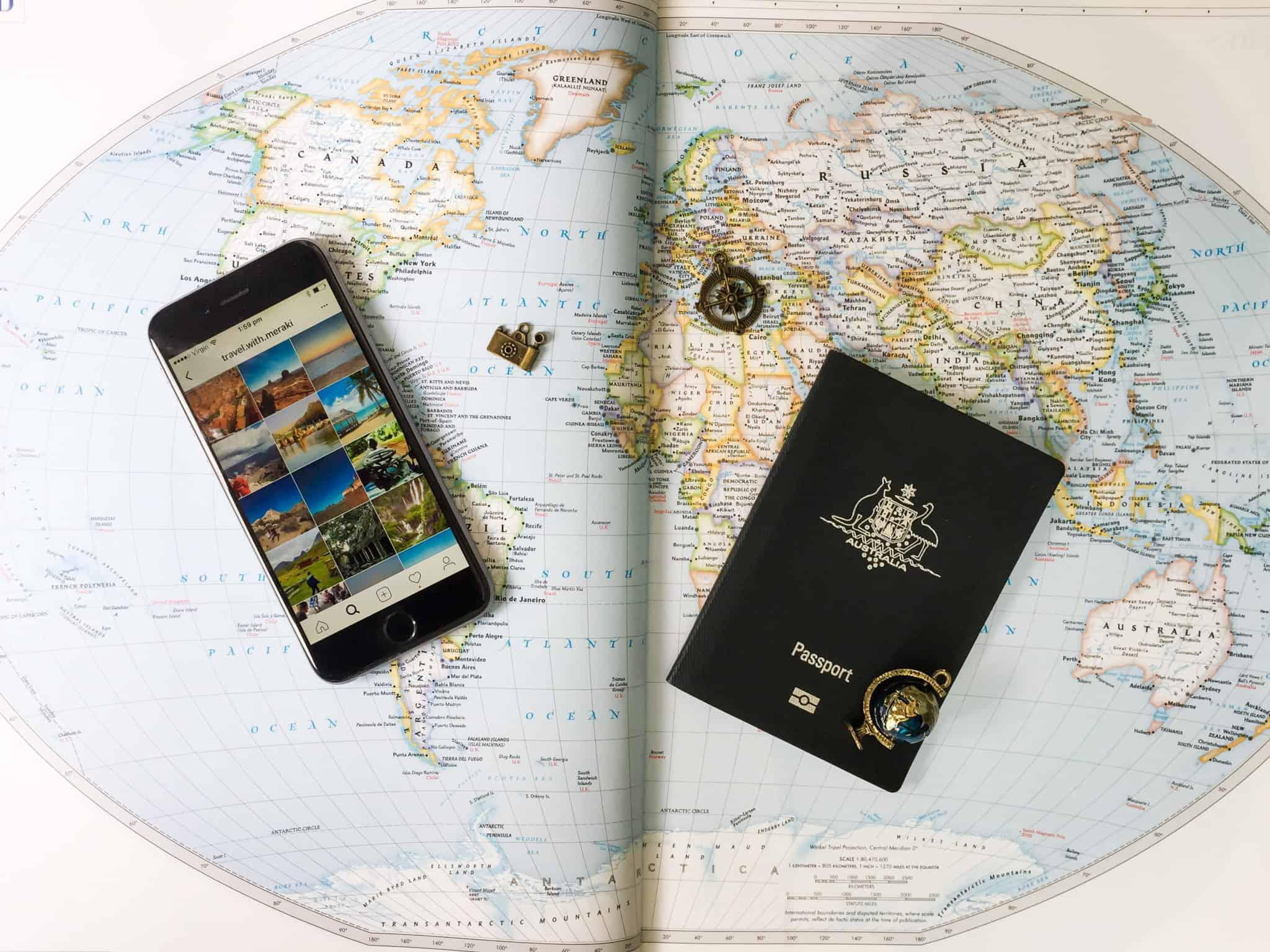 TravelwithMeraki-Stock Image - Map