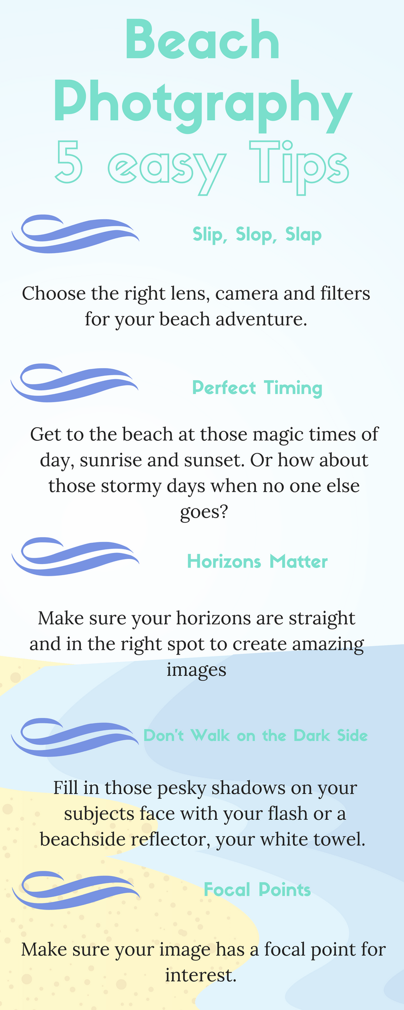 How to take stunning beach photos_ 5 easy tips. Travel With Meraki