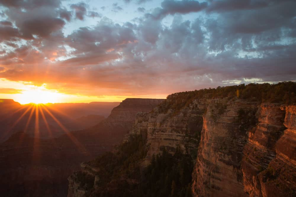 How To Capture Sunrise At Grand Canyon