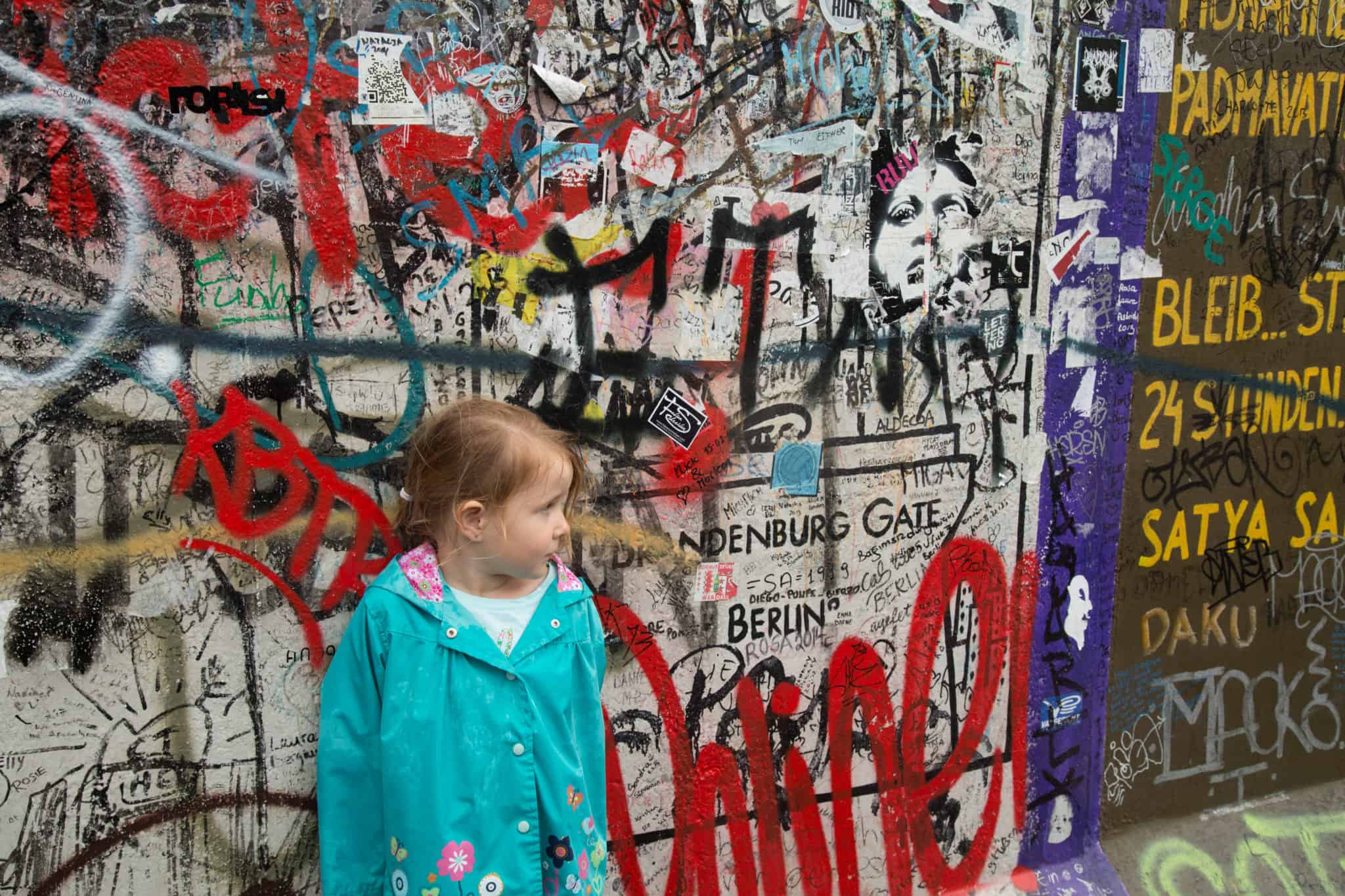 Travel with kids - Berlin Wall - Berlin - Germany