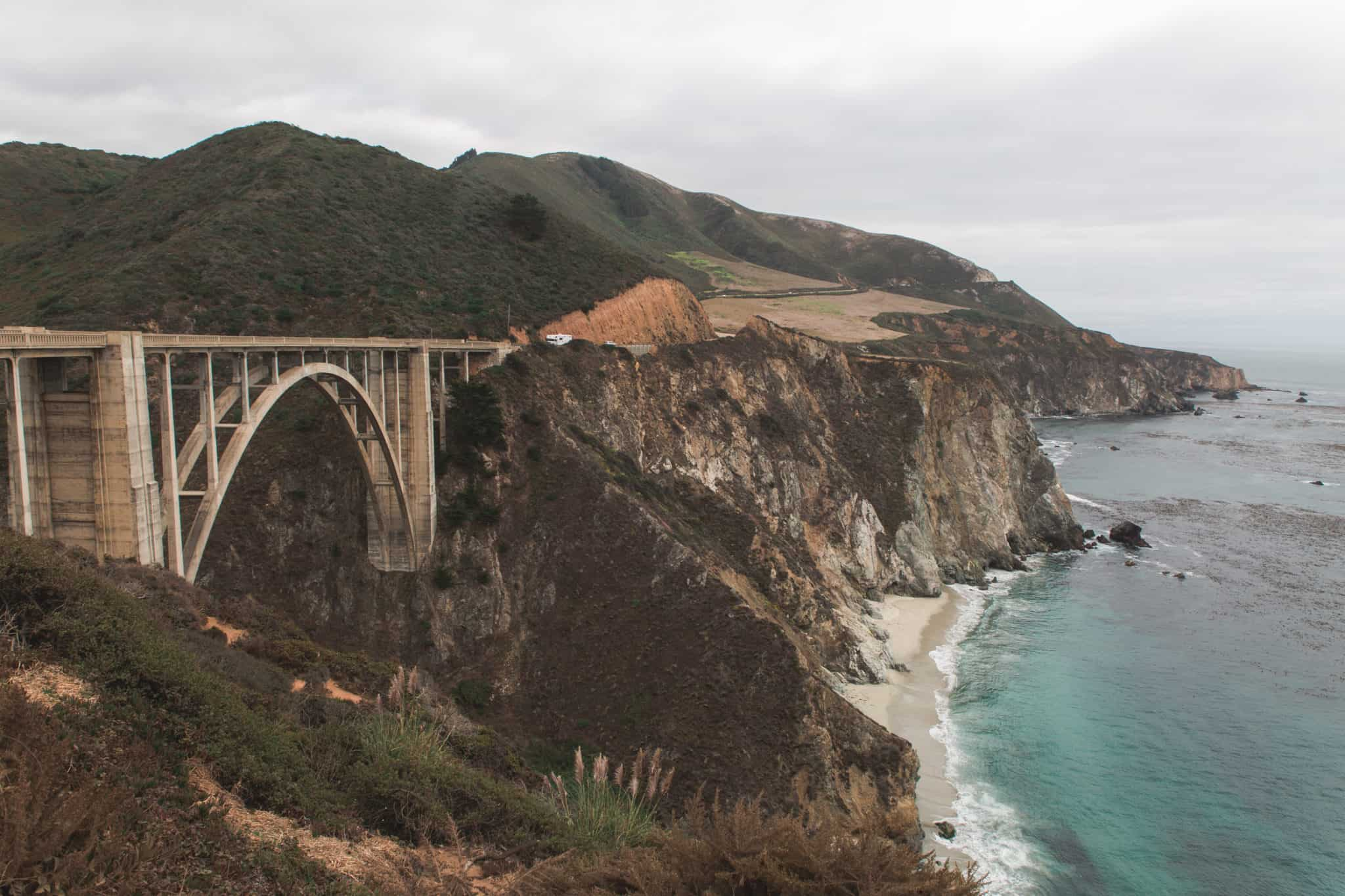 Bixby Bridge - Big Sur - Higway 1 - California - USA - CA