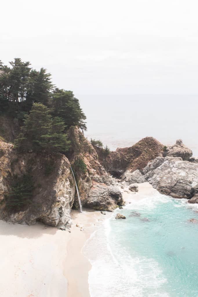 Mcway Falls - Julia Pfeffier Burns State Park - Big Sur - Higway 1 - California - USA