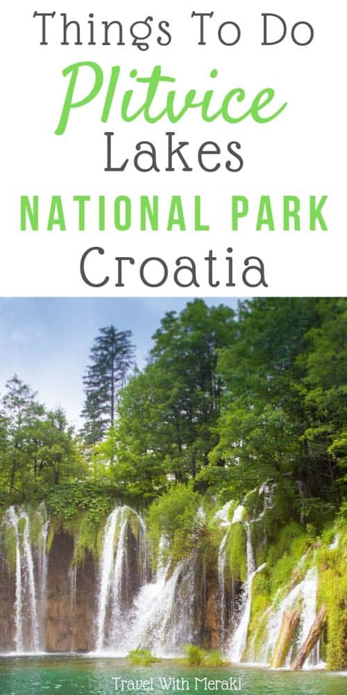 Plitvice Lakes National Park Croatia. See stunning Plitvice Lakes photography and what you need to see when visiting.
