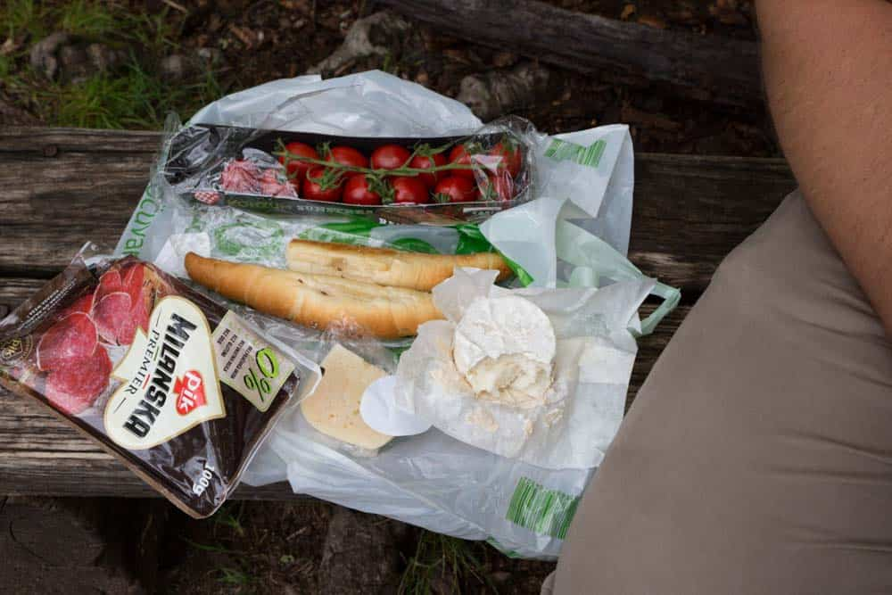 What to eat in Plitvice Lakes croatia
