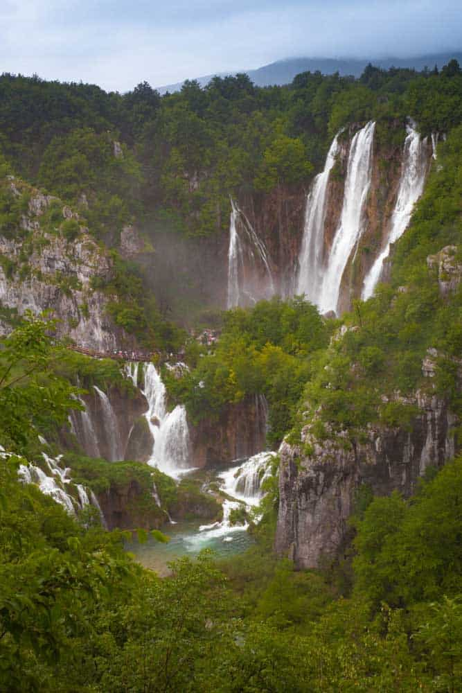 waterfalls Plitvice Lakes Croatia
