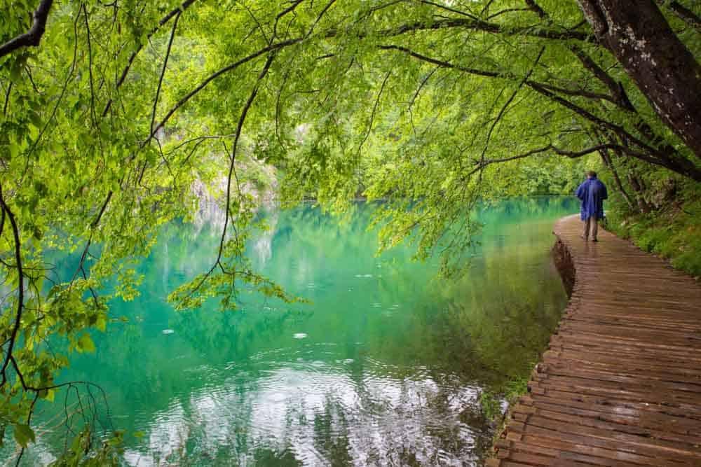 Getting around Plitvice Lakes Croatia