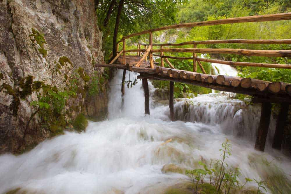 Plitvice Lakes walkways