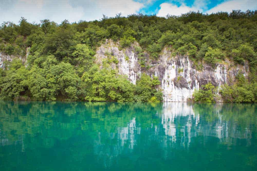 Plitvice Lakes water
