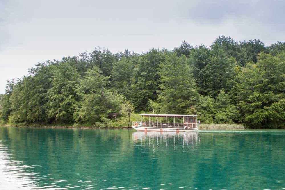 Transport in Plitvice Lakes Croatia