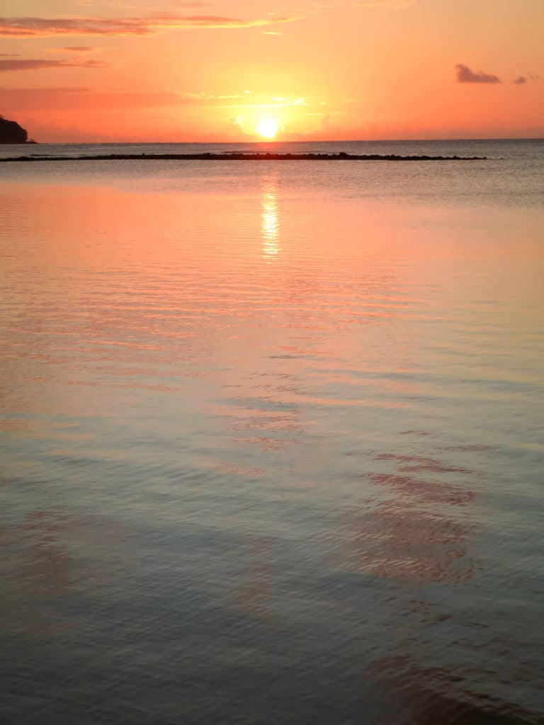 TravelwithMeraki-sunset-lelagoto- Savaii-Samoa-South-Pacific