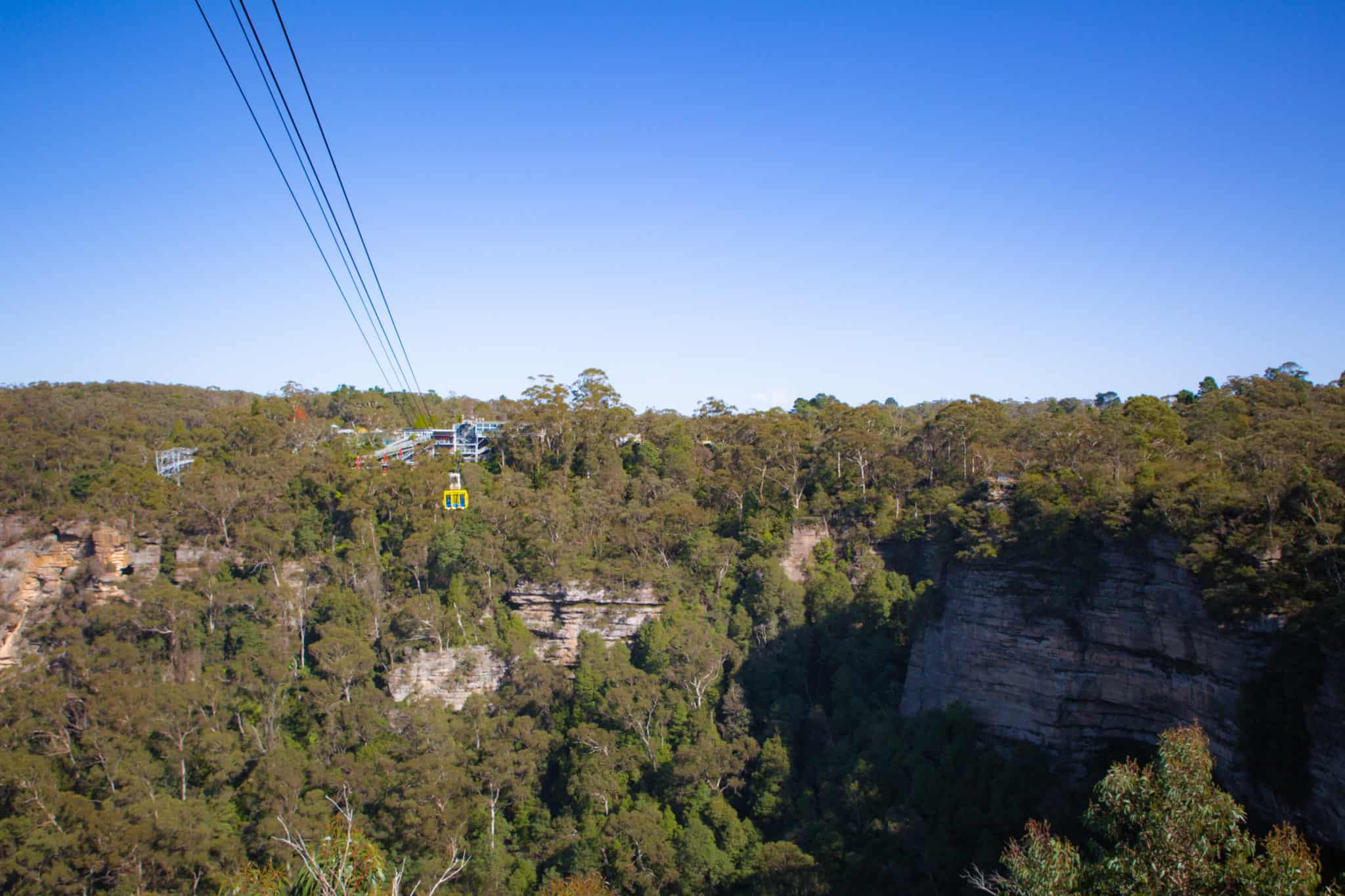 Scenic World - Blue Mountains - Sydney - NSW- scenic skyway