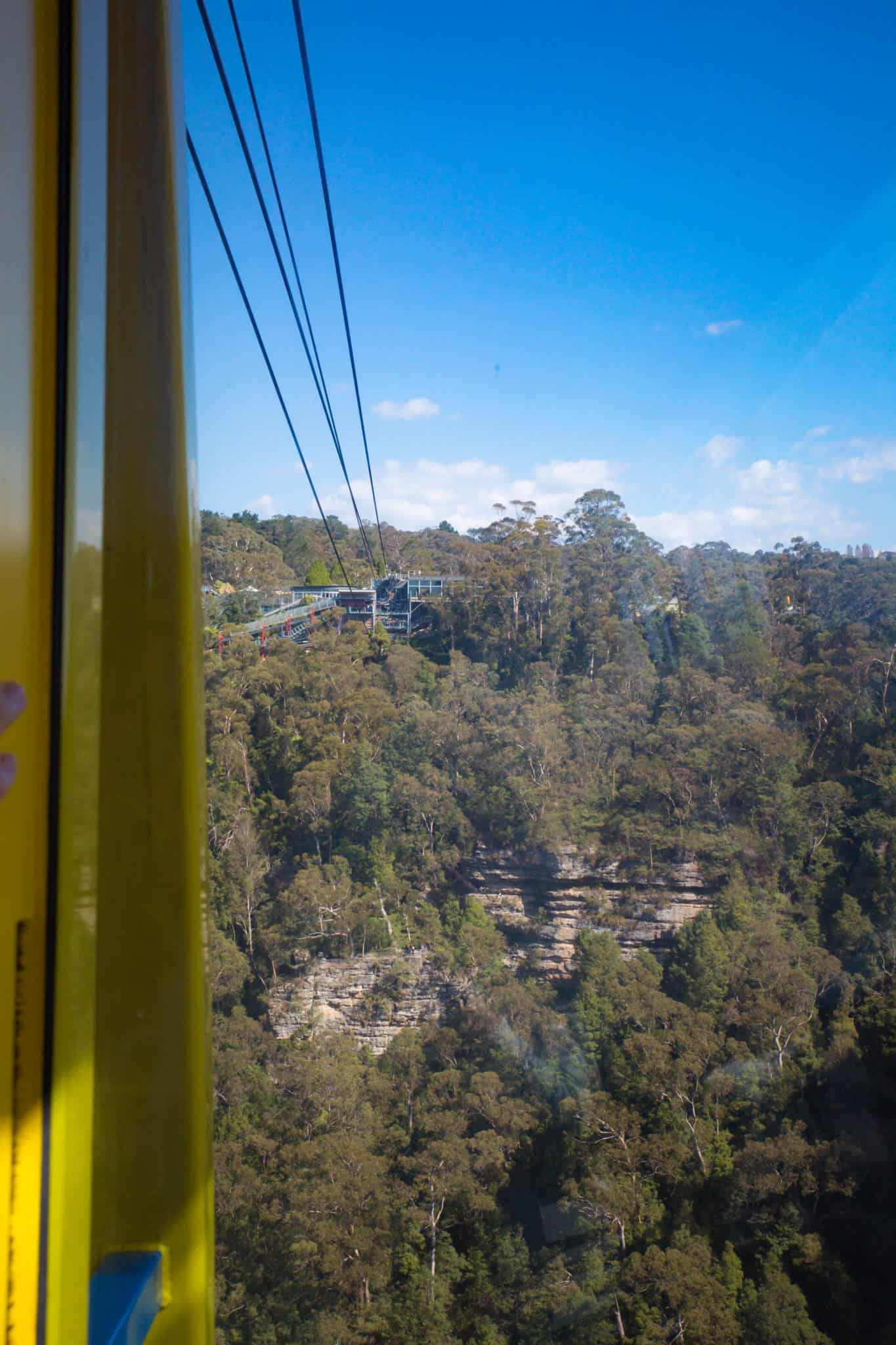 blue mountains cable car