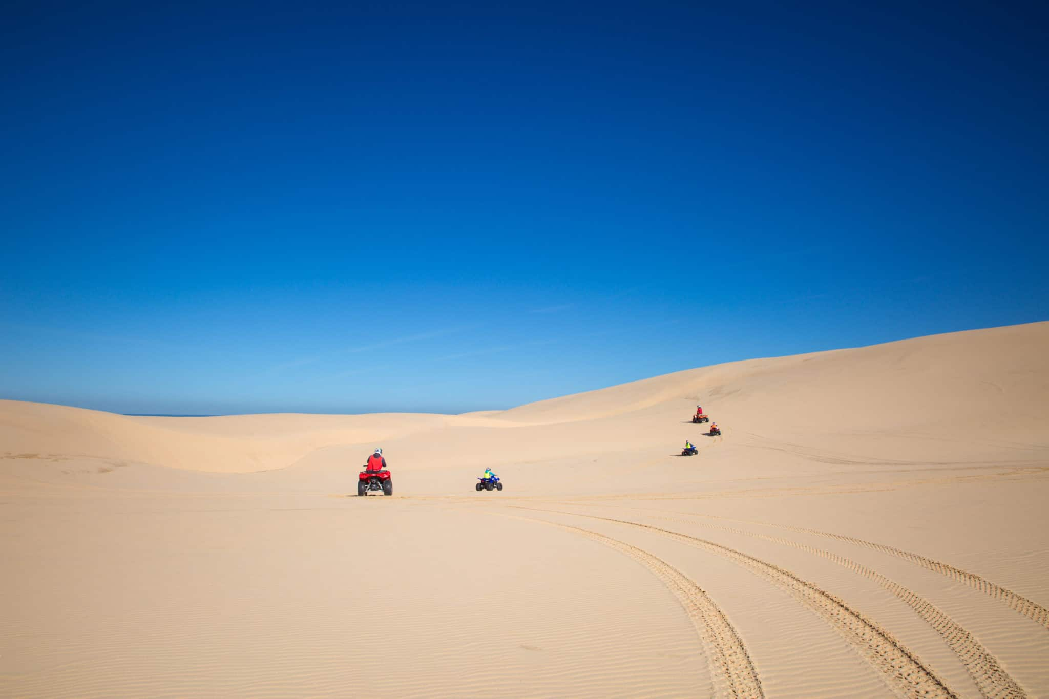 Travel With Meraki - Sand Dune Adventures - Quad Biking - Stockton Beach - Newcastle - Australia