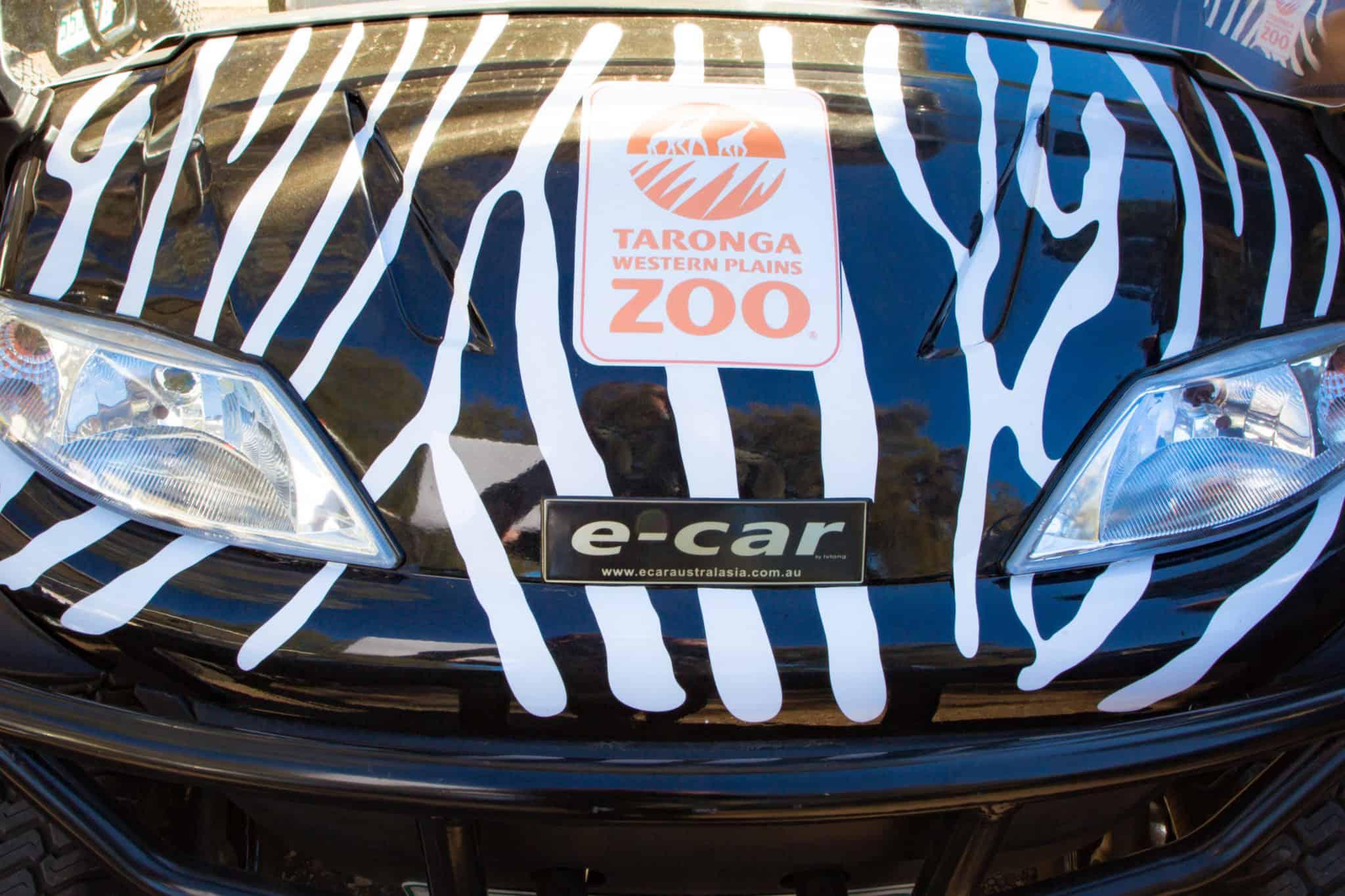 Travel With Meraki- Taronga Western Plains Zoo Dubbo Australia Electric Safari Cart