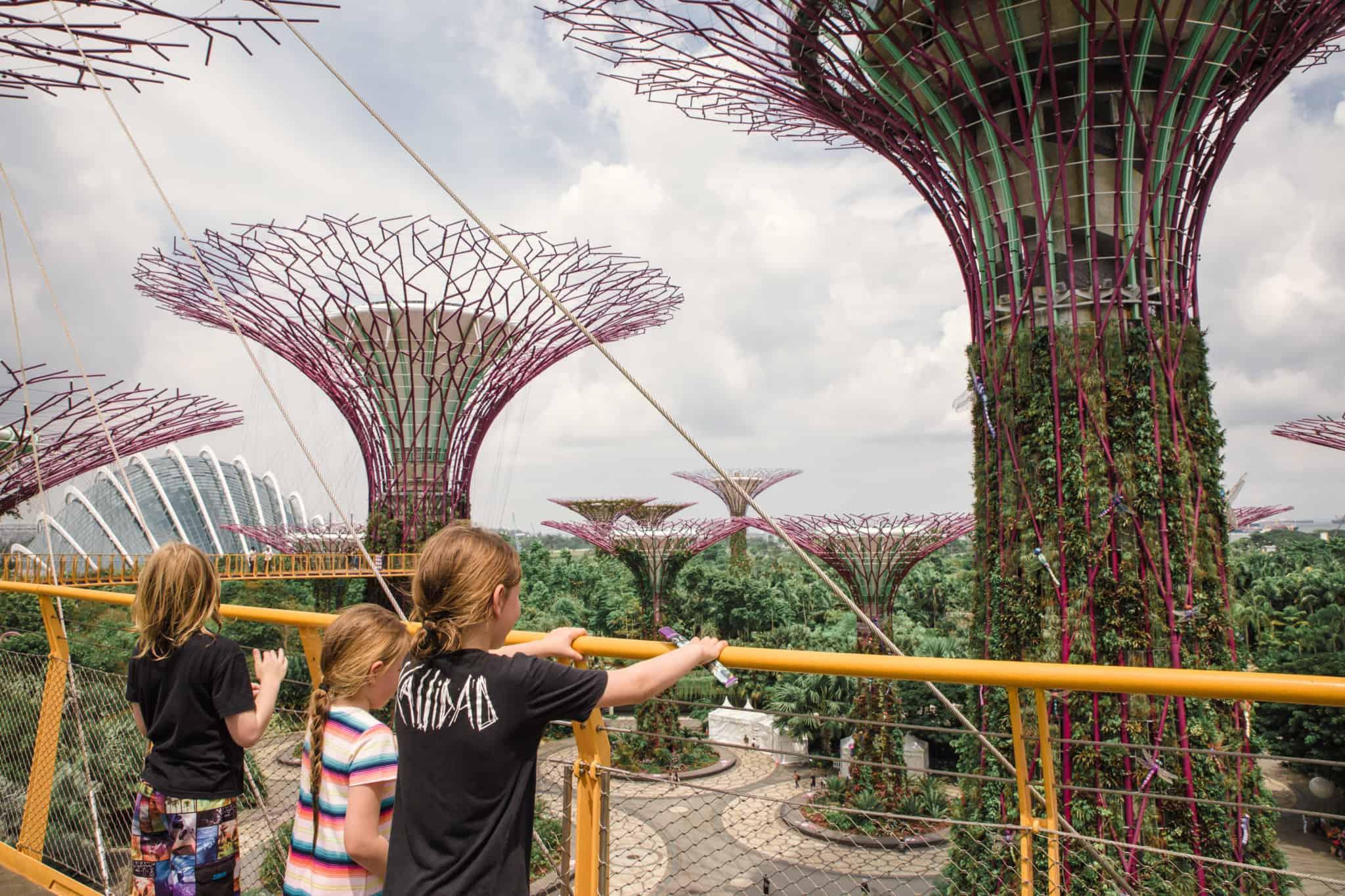 Travel With Meraki - Gardens By The Bay - Singapore