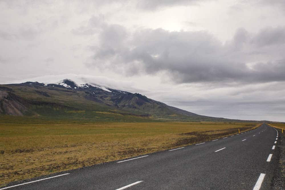 motorhome camping in iceland