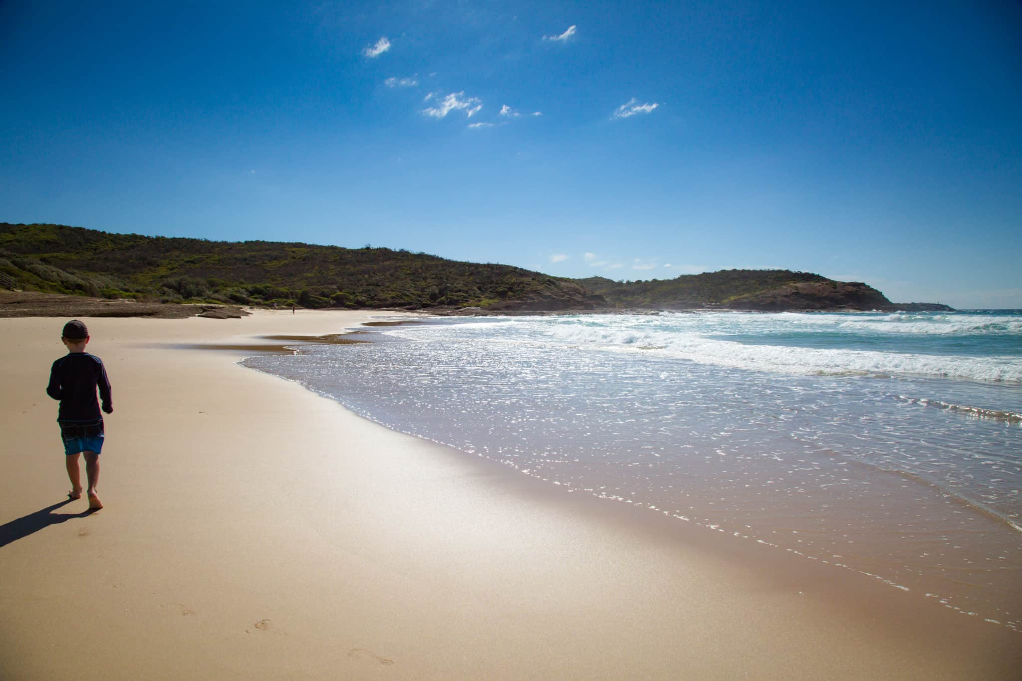 Travel With Meraki - Frazer Beach - Central Coast - NSW - Australia