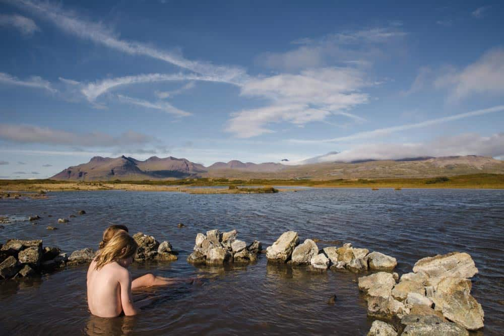 Iceland travel with kids