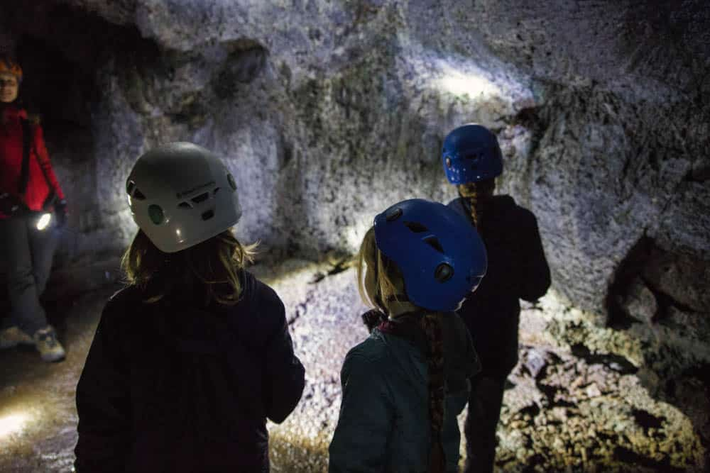 Caves with kids