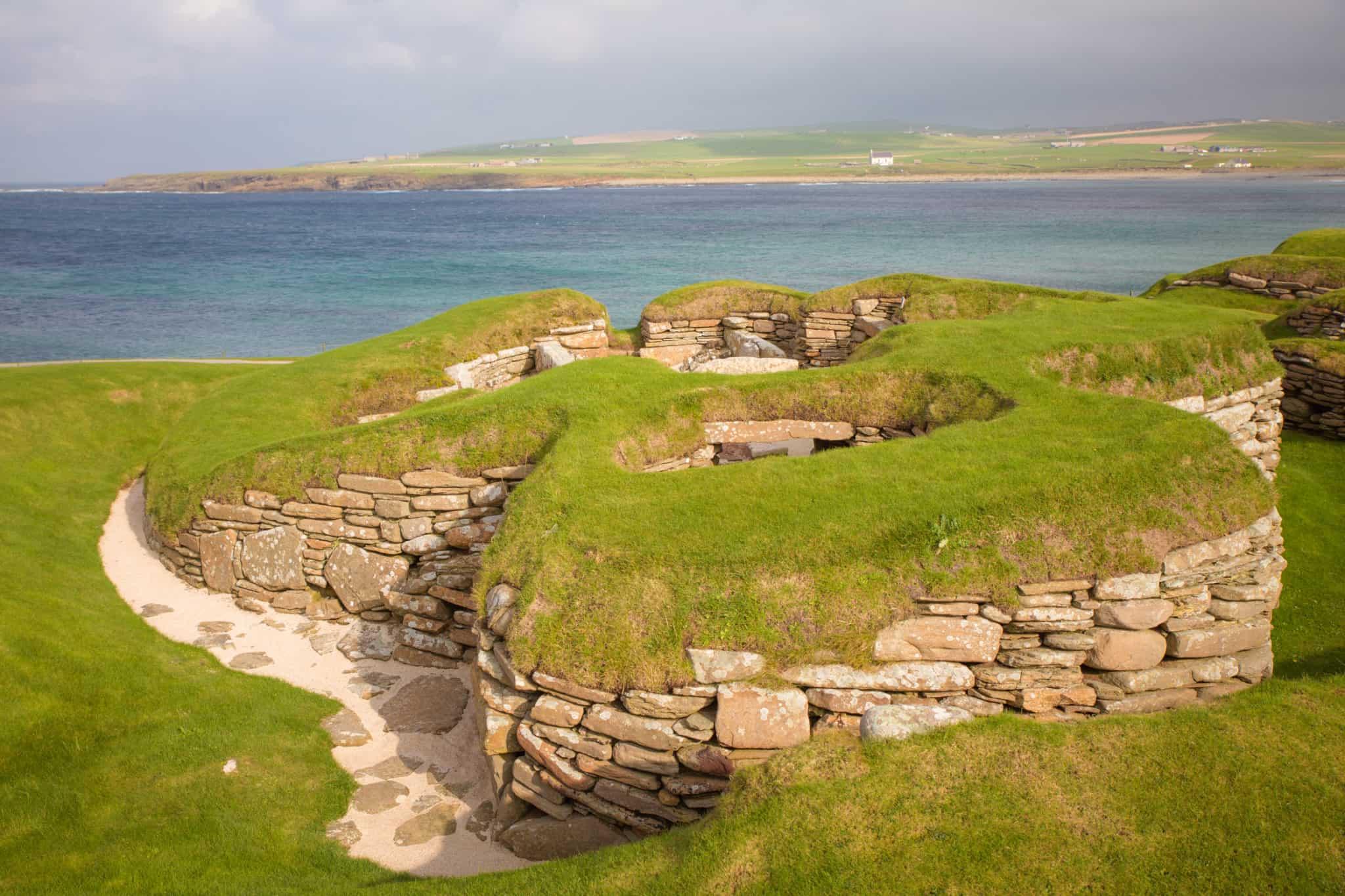 skara brae pictures - Orkney Islands - Scotland-