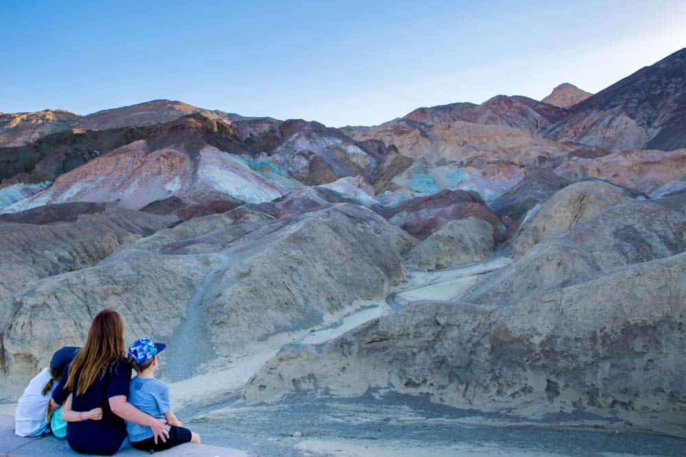 Artists Palette Death Valley USA