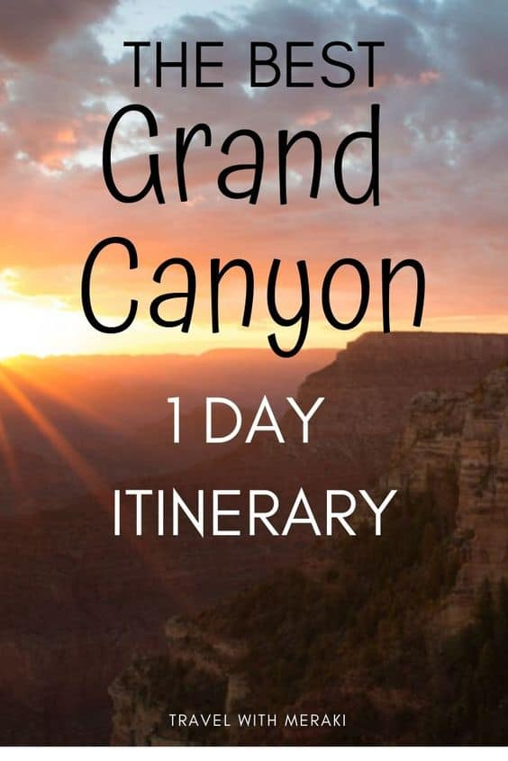 What to see in grand canyon
