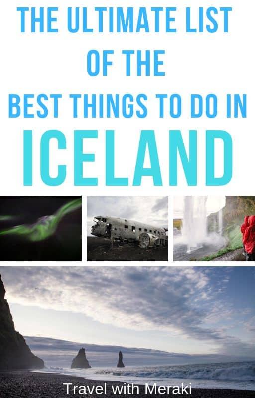 Iceland Bucketlist