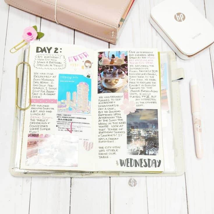 Beautiful Travel Diary