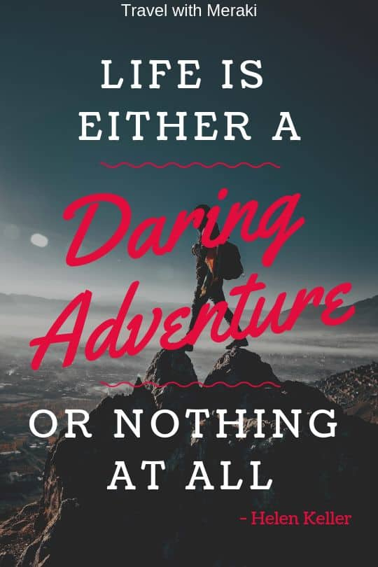 Daring adventure quote