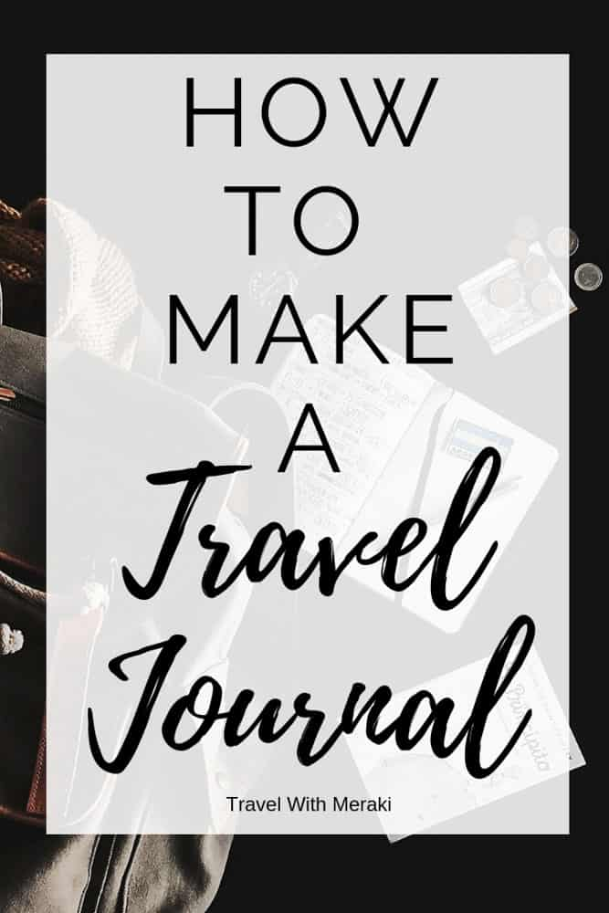 Find all you need to make a travel journal you love. Travel journal ideas and inspiration. #traveljournal #traveljournalideas #traveljournaldiy #traveljournalinspiration #travelbulletjournal