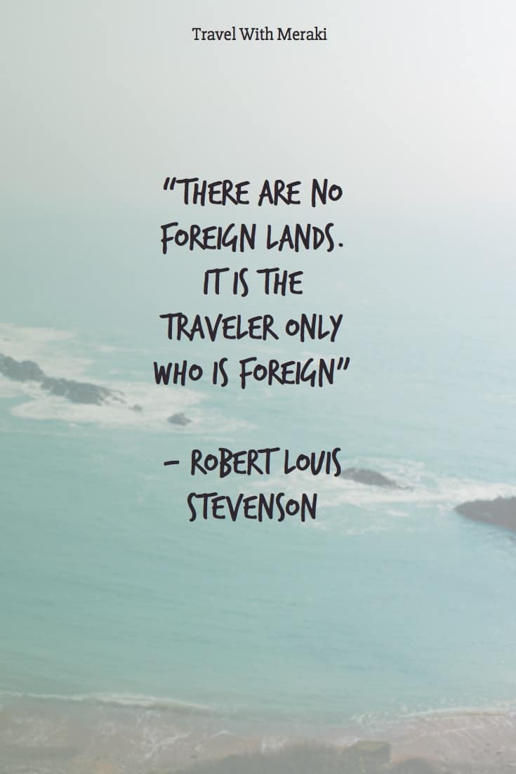 Traveler quote