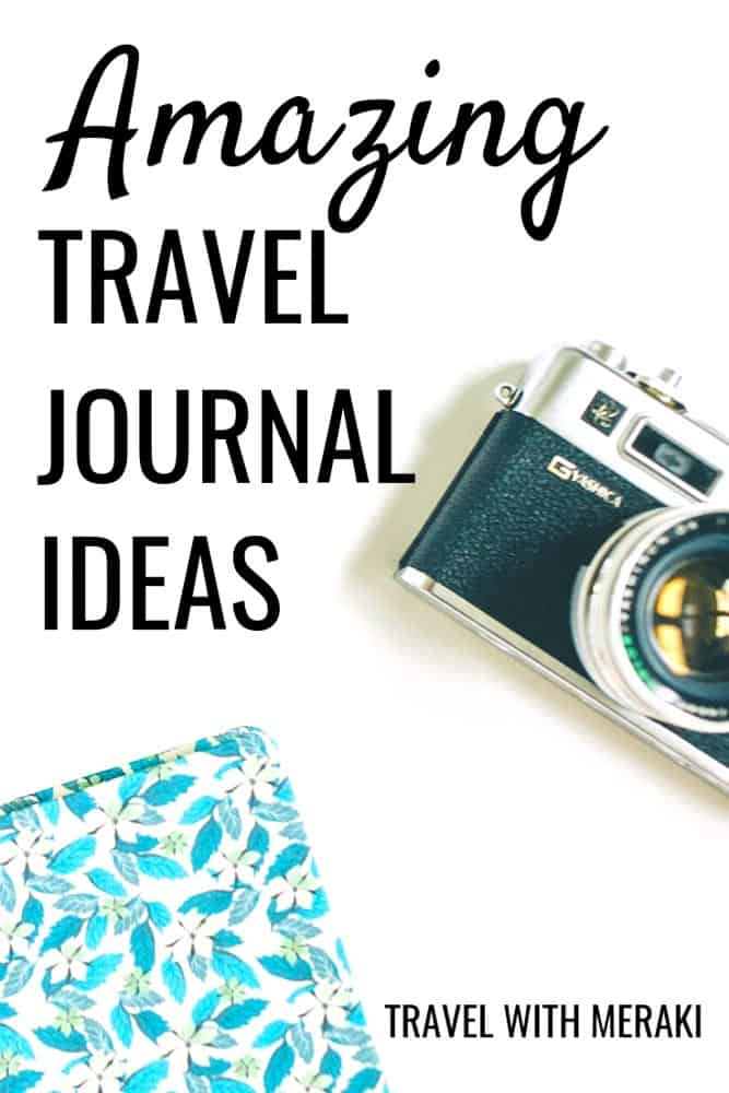 Get the best travel journal ideas for your next trip. Create a travel keepsake you love. #traveljournal #traveljournalideas #traveljournaldiy #traveljournalinspiration #travelbulletjournal