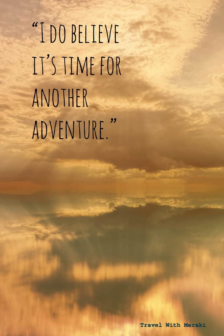 Quote about adventure