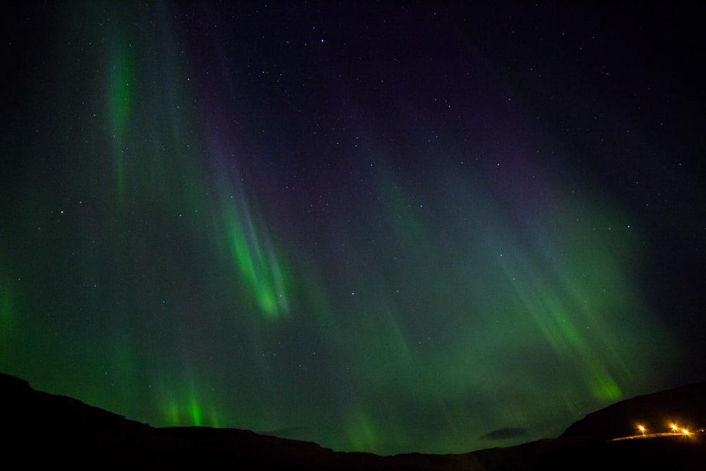 Northern Lights Photograph