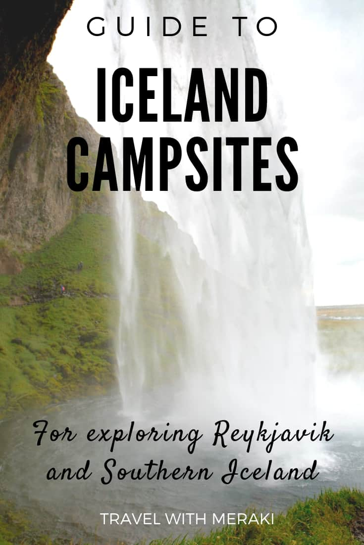Camper van sites in Iceland