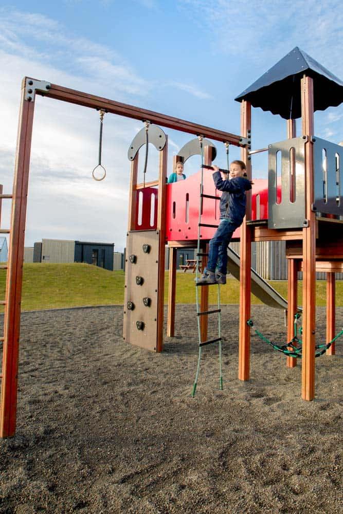 Iceland Campsite playground