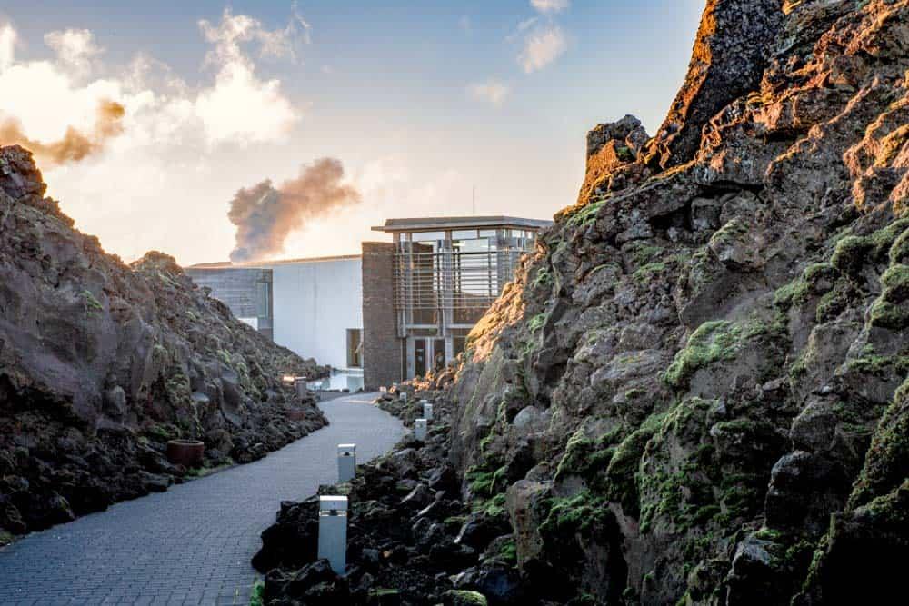 Blue Lagoon Campsite Iceland