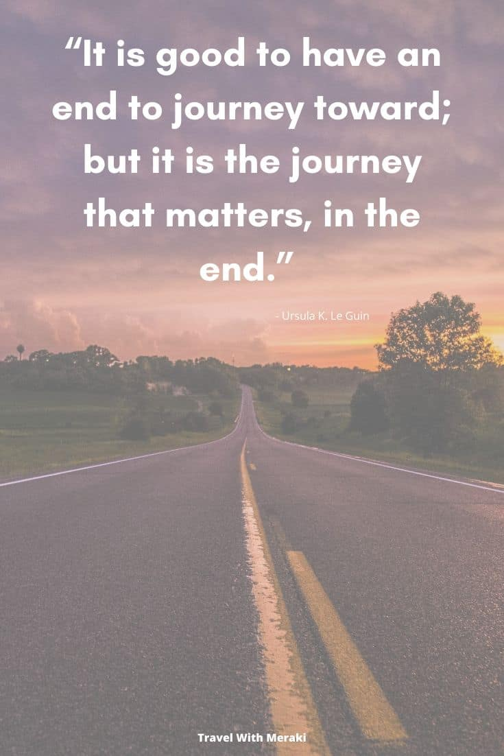 Quote About Journey Matters