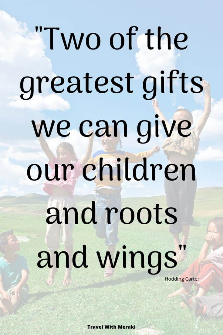 Quotes About Children and Travel
