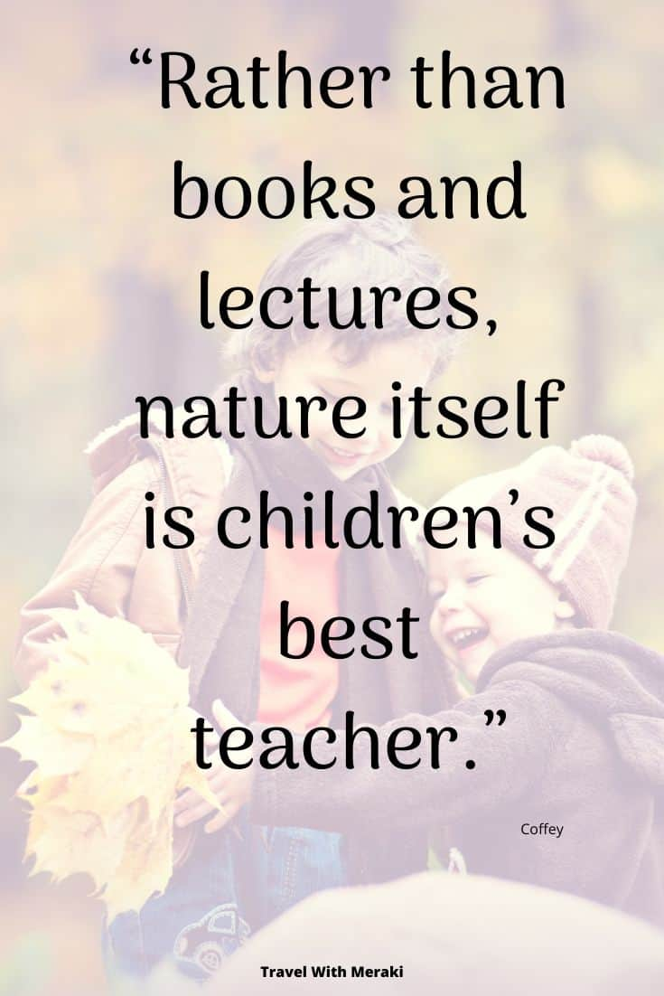 Quote about kids in nature