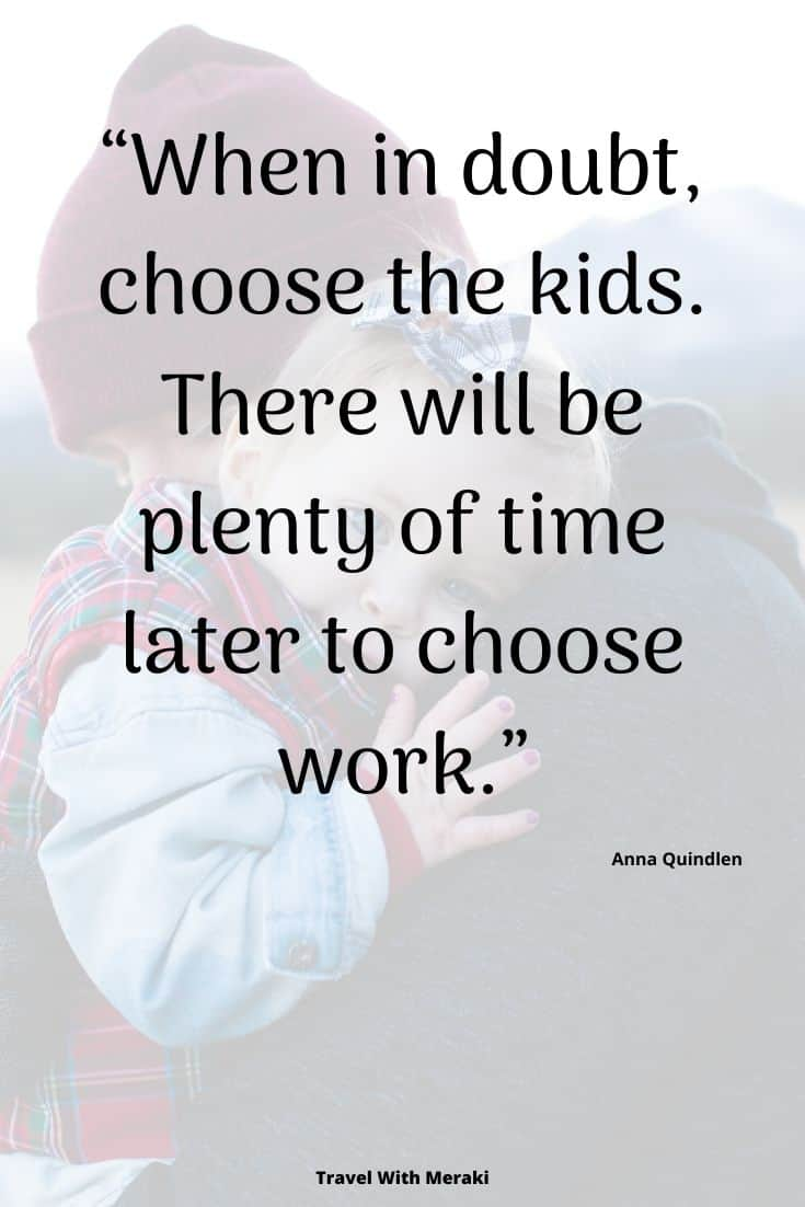 Choose The Kids Quote