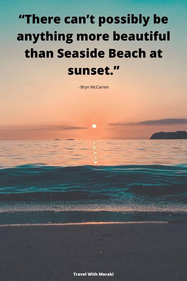 Sunset Beach Quote