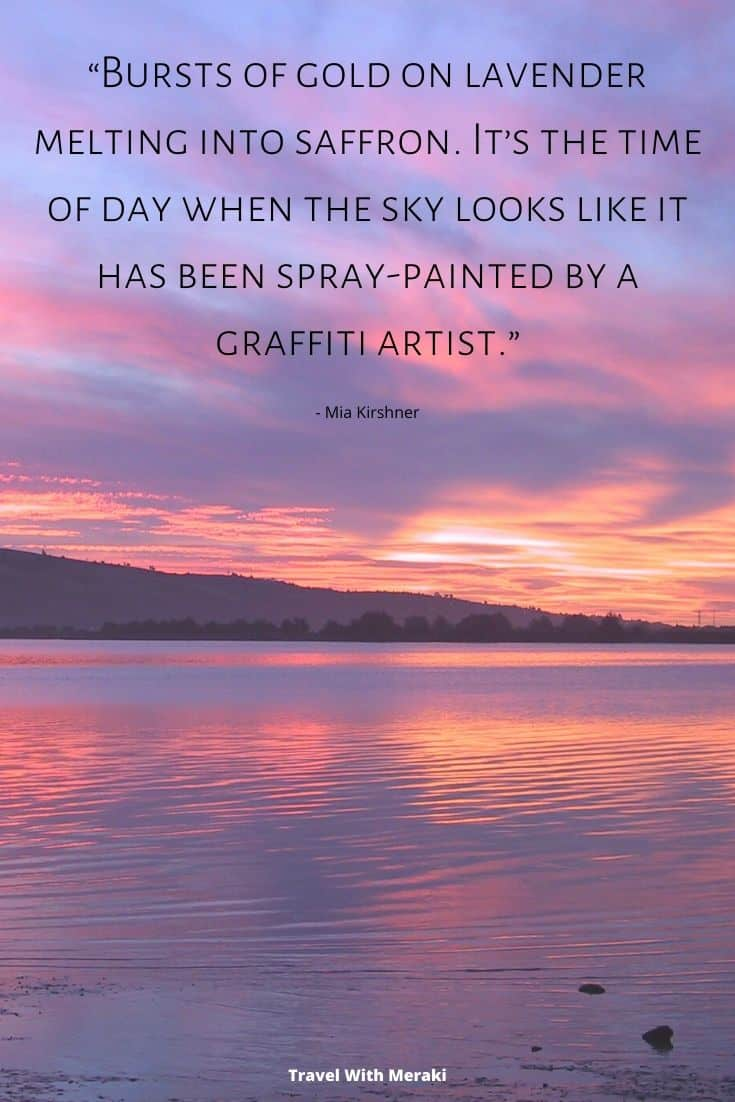 Quotes About Sunset Travel With Meraki